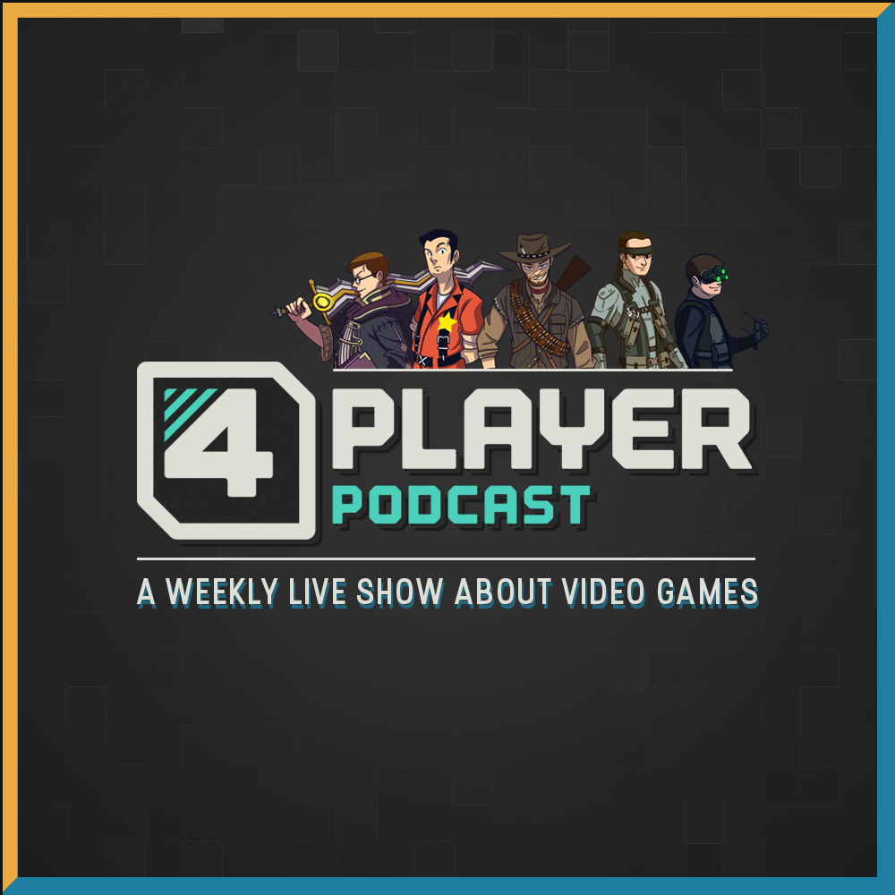 4Player Podcast Art Card