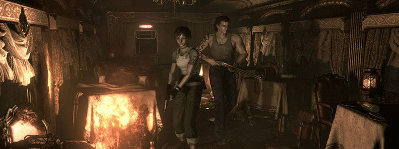 Resident Evil Zero - Rebecca and Billy on Train